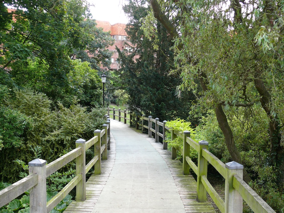 bridge over college gardens